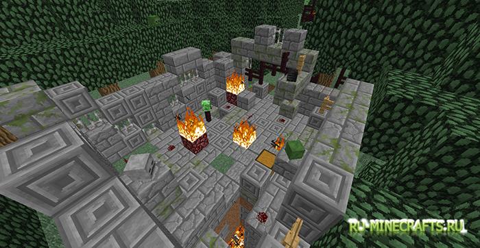 скачать карту на прохождение для minecraft 1.7.2 yf выживание #11