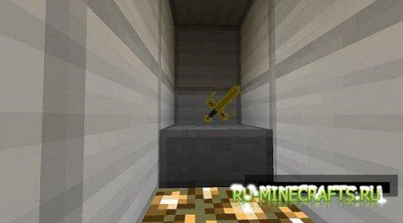 Мод Golden Sword of Justice для minecraft 1.4.6