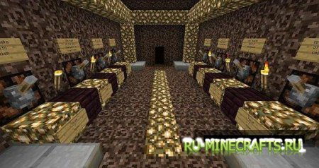 Карта Escape From The Hall  для minecraft