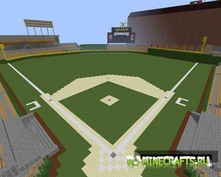Карта Oriole Park At Camden Yards для minecraft