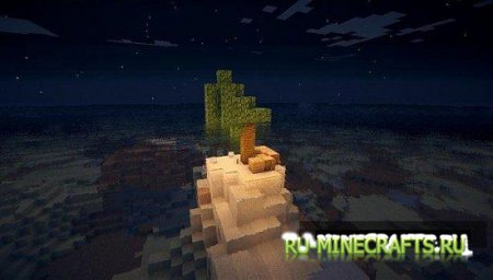 Карта Shipwrecked Survival для minecraft