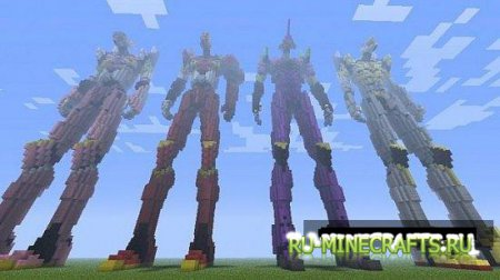 Карта Evangelion 3.0 You Can (Not) Redo Evangelions для minecraft
