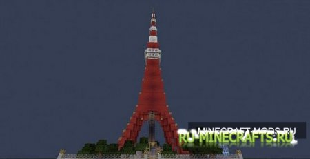 Tokyo Tower - Super City - Minecraft Project [Карта]