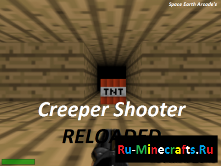 Игра [SEA ARCADE] Creeper Shooter Reloaded