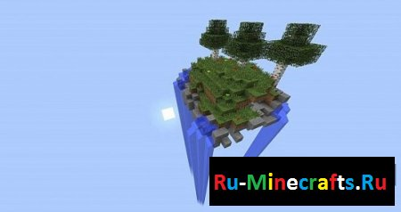 Карта Hovering Survival Island