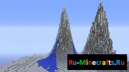 Карта Extreme Mountains - Custom Terrain