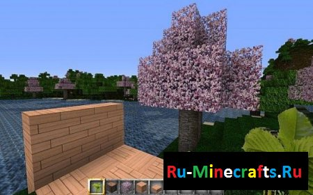 Ресурспак Blossoming Cherry Trees [128x][1.7.9]