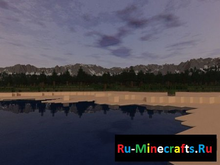 Карта Pine Valley - Minecraft Custom Terrain