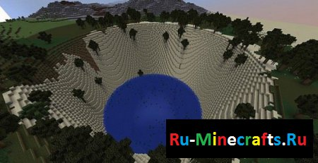 Карта Very Nice Minecraft Landscape