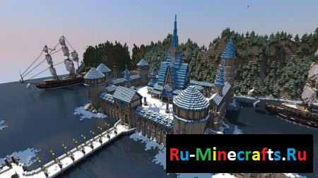 Карта Frozen Arendelle Winter