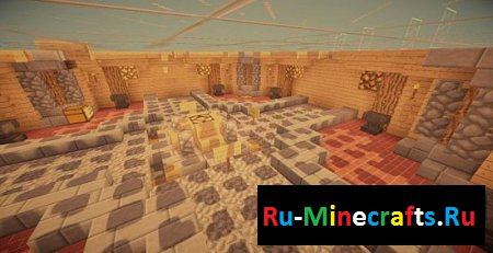 Карта MInecraft Awesome Parkour Map created