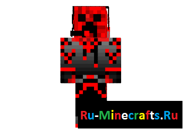 Скин Redstone Creeper