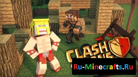 Мод Clash Of Mobs 1.8