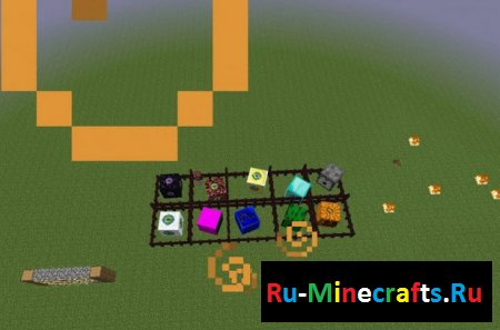 Мод Living Block Monsters 1.7.10