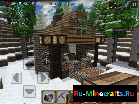 "Игра ""Winter Craft 3: Mine Build"""