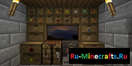 Мод Storage Drawer 1.8.9