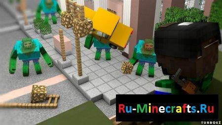 Смотреть видео Майнкрафт (Minecraft) ЗОМБИ АПОКАЛИПСИС - ВЫЖИВАНИЕ В ГОРОДЕ 2017 года онлайн
